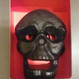 Foster & Rye Cast Iron Skull Bottle Opener